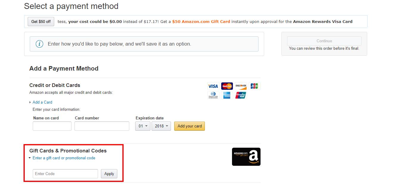 Amazon kortingscode gebruiken