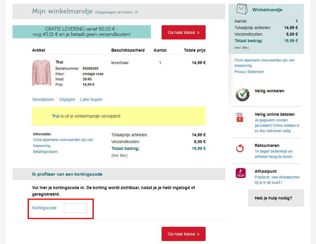 094fef68b24867 50% Bonprix kortingscode (België) - korting in juli 2019
