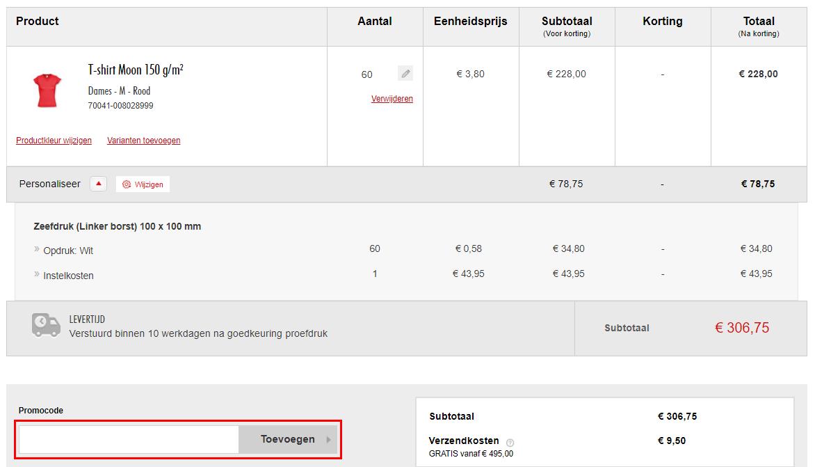 Eurogifts kortingscode gebruiken