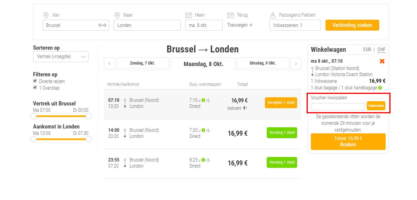 FlixBus-kortingscode-gebruiken