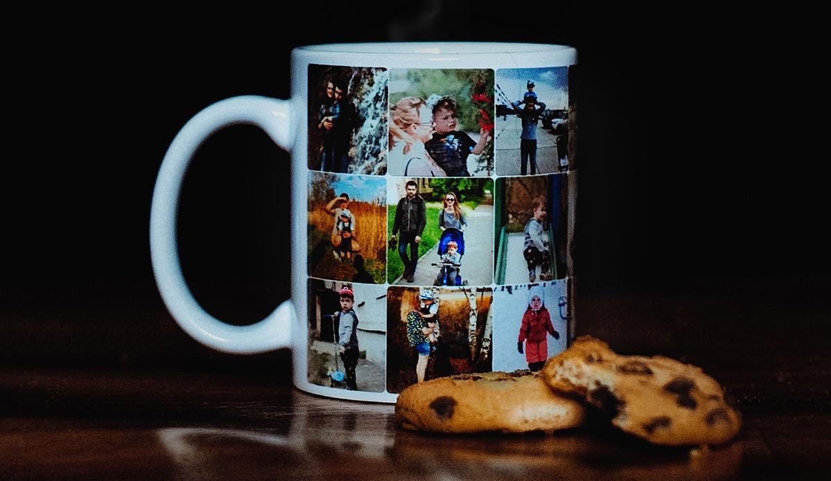 Fotomok met koekjes