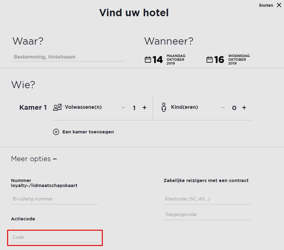 Ibis Hotel kortingscode gebruiken