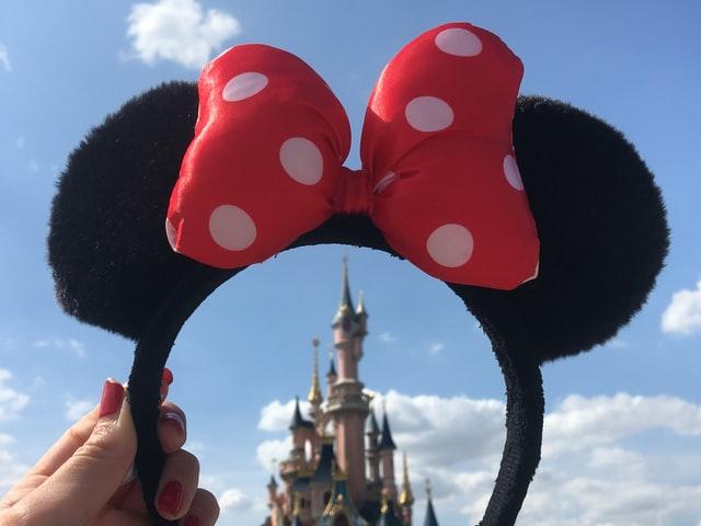 Minnie Mouse oortjes voor Disney kasteel