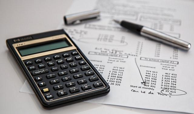 Rekenmachine met boekhouding