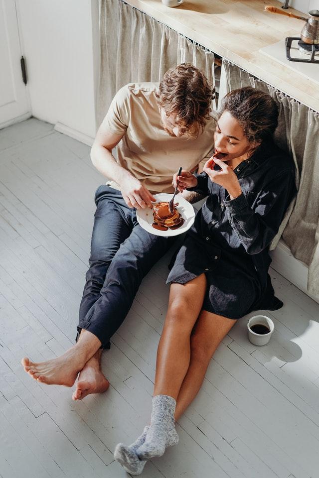 Romantisch eten