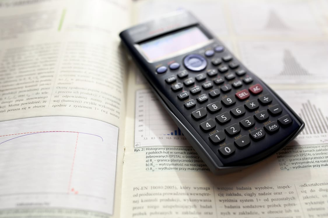 Studeren rekenmachine