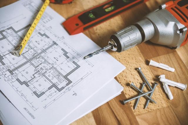 Verbouwplan met tools