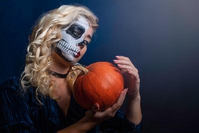 Griezelige Halloweenoutfit