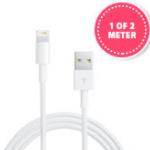 Bestel een originele Apple Lightning USB-kabel voor maar €9,95 bij 1DayFly