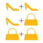 Torfs Koppelverkoop | Hoge korting bij aankoop van 2 producten!