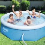 Bestel nu een groot zwembad voor in je tuin met wel 20% korting bij Bristol