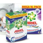 1DayFly | Pak nu 54% korting op 110 wasbeurten met Ariel waspoeder