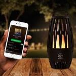 Profiteer bij Outspot van 40% korting op een sfeervolle bluetooth speaker