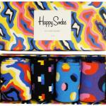Scoor bij iBOOD aan maar liefst -50% korting op cadeauboxen van Happy Socks